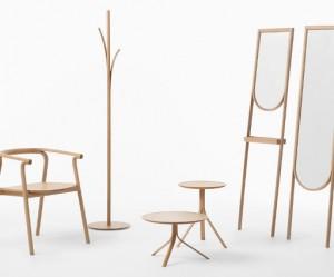 Serie meubelen Splinter van Nendo