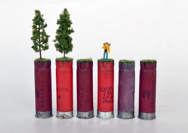 Miniatuure kunst van Jesse Bromm
