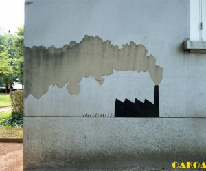 Street art van OakoAk