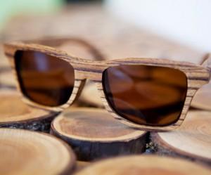 Houten zonnebril van Shwood