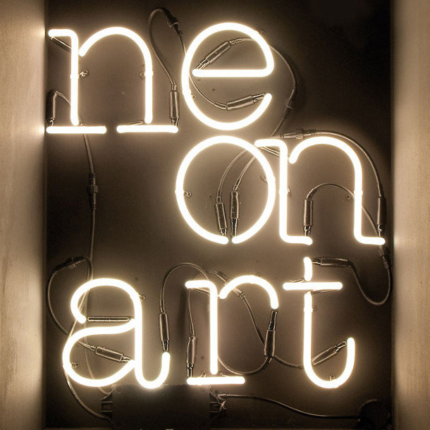 Neon letters van Seletti