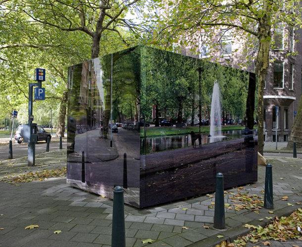 Urban camouflage van Roeland Otten