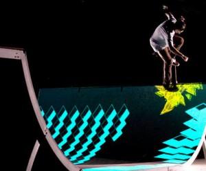 Interactieve skate ramp