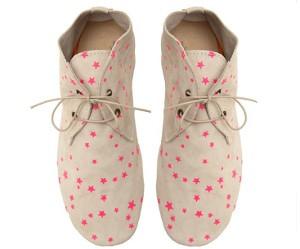 Pink Fluo star schoenen van Anniel