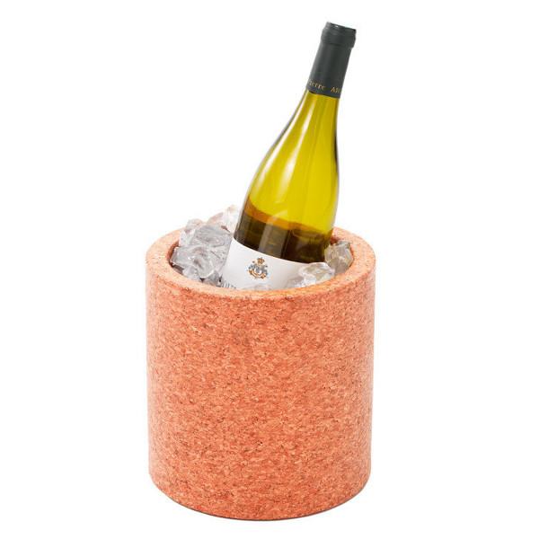 Wijnkoeler van kurk