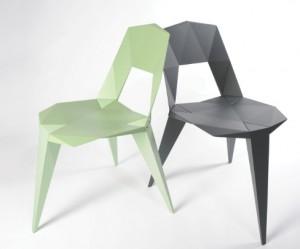 Pythagoras stoel van Sander Mulder