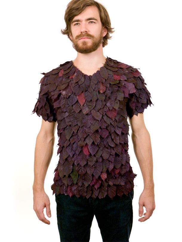 tshirt van bladeren