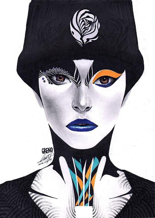 Moderne kleurrijke schilderijen van Minjae Lee