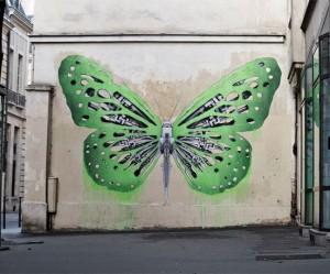 Street Art uit Paris van Ludo