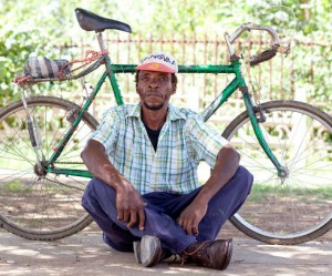 Bicycle Portraits in Zuid-Afrika