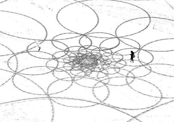 Jim Denevan - zand kunstenaar