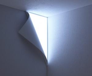 Design wandlamp met OLED van YOY
