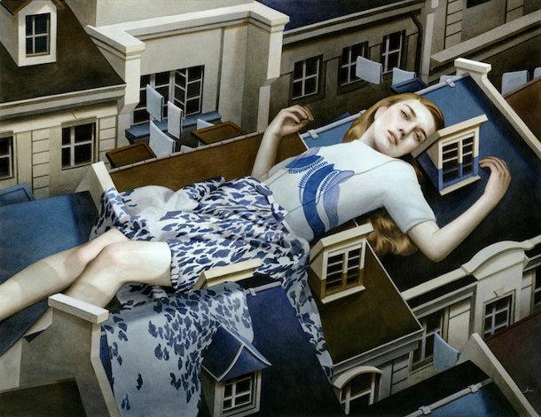 Acryl schilderijen van Tran Nguyen