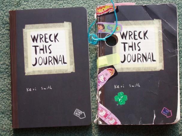 Wreck this journal van Keri Smith