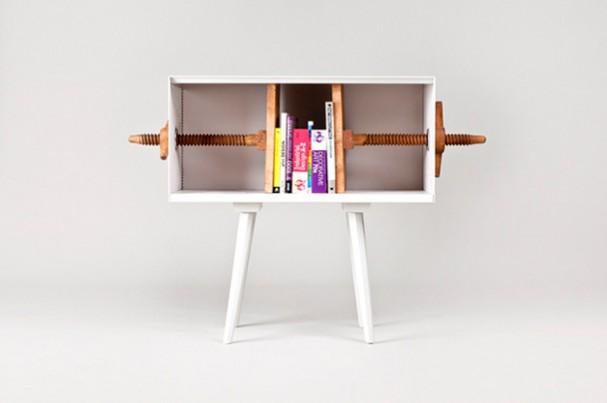 Twist Me - houten design boekenkast