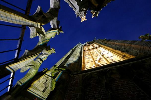 Werk aan de muur van Donker Utrecht