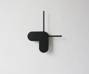 Minimalistische klok