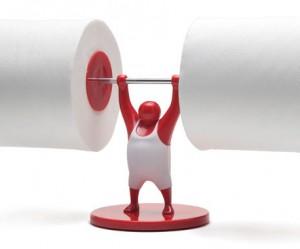 MR T toiletrolhouder van Monkey Business