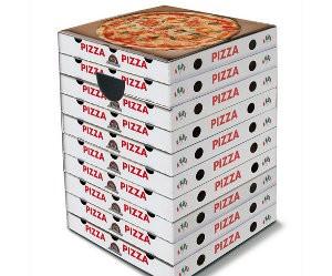 Kartonnen krukje van pizzadozen