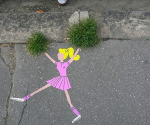 Street Art in Frankrijk