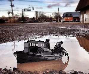 Street art van Joa Iurato