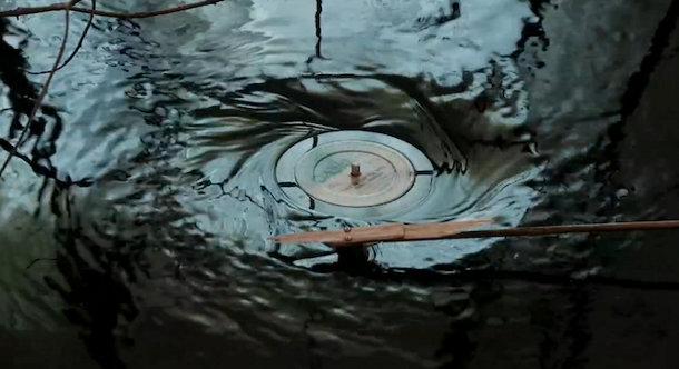 Vinyl draaitafel werkt ook onderwater
