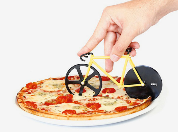 Fixie Pizza Cutter van DOIY Design