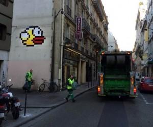 Flappy Bird van Space Invader