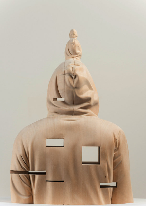 houten sculpturen van Paul Kaptein