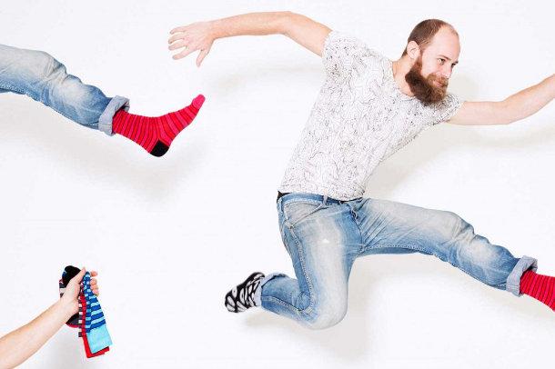 Effio sokken van Antoine Peters