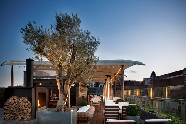 Design hotel in Londen Boundry