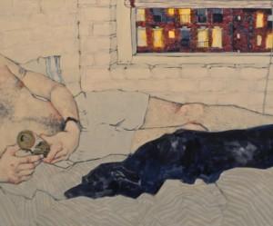 Expressionistisch schilderij van Hope Gangloff