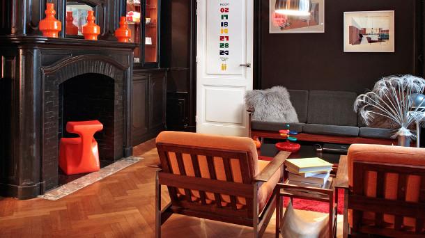 Vintage hotel in Brussel
