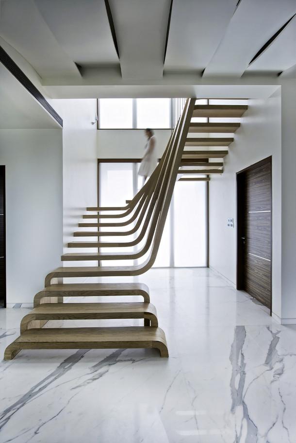 Design houten trap
