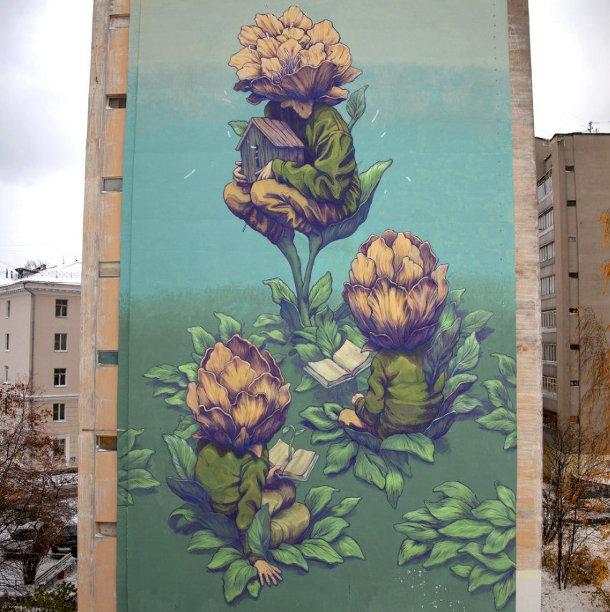 surrealisme-muurschildering-rustam-qbic-2