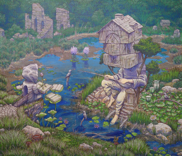 surrealisme-muurschildering-rustam-qbic-4