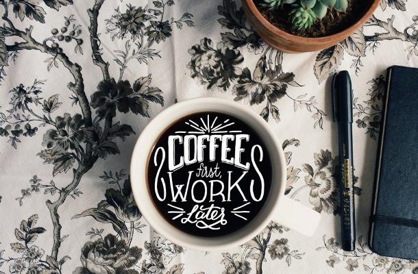 koffie-typografie
