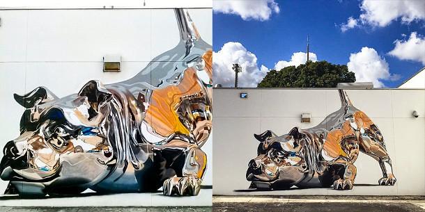 muurschildering-hond-2