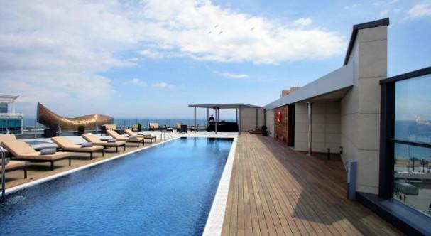 Hotels aan zee in Barcelona
