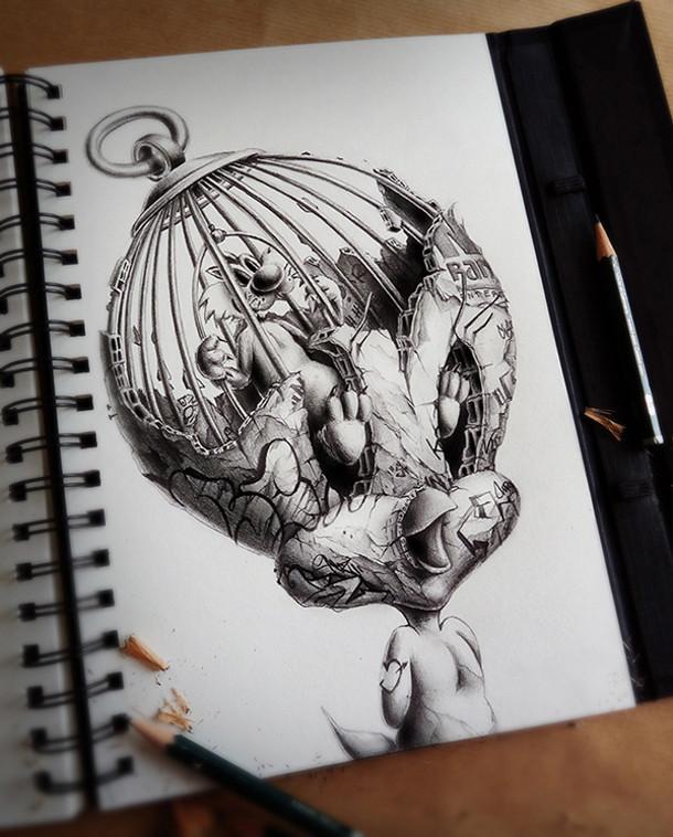 tekeningen-stripfiguren-slechteriken-2