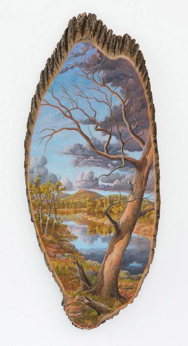 schilderingen-landschappen-boomstammen-4