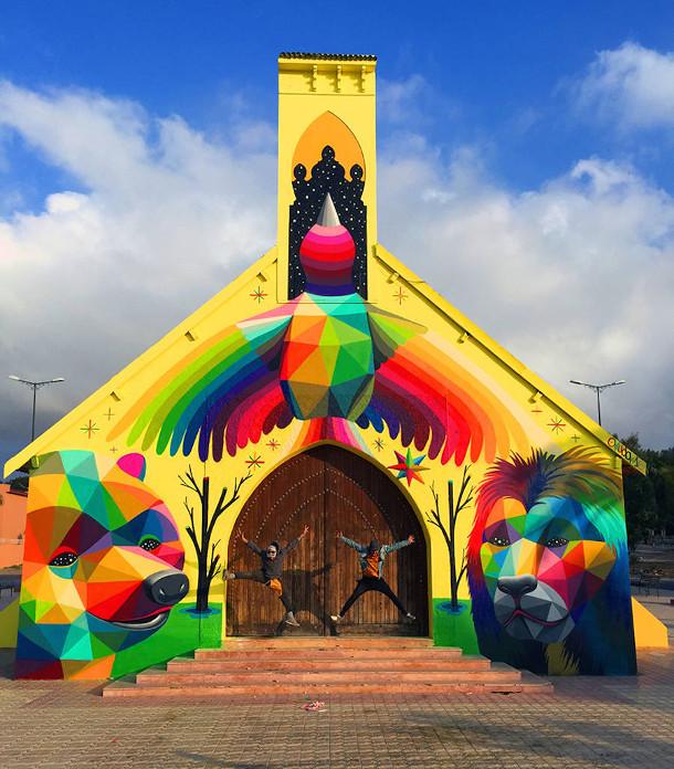 kerk-street-art-marokko-3