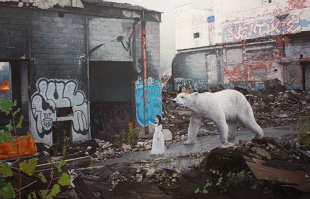 hyperrealistische-schilderijen-kinderen-dieren-8