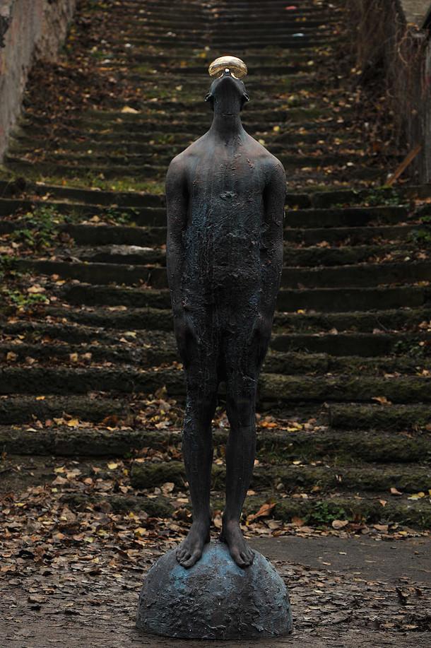 regendruppel-glas-brons-sculptuur-4