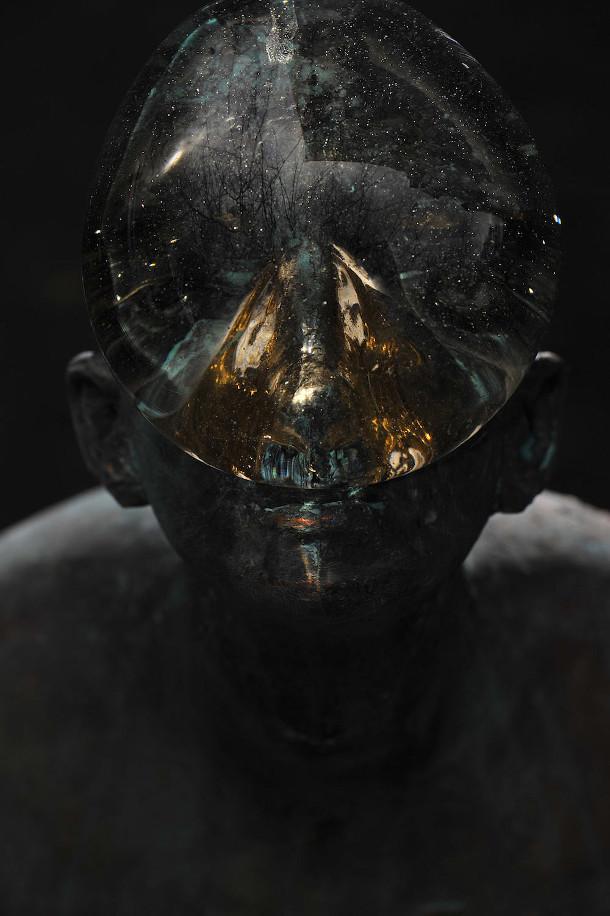 regendruppel-glas-brons-sculptuur-5