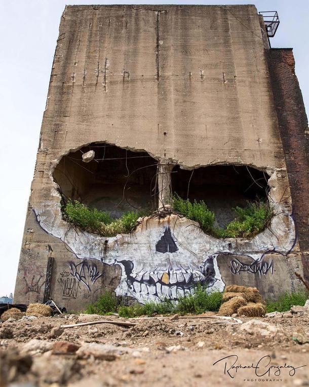 muurschildering-schedel-2