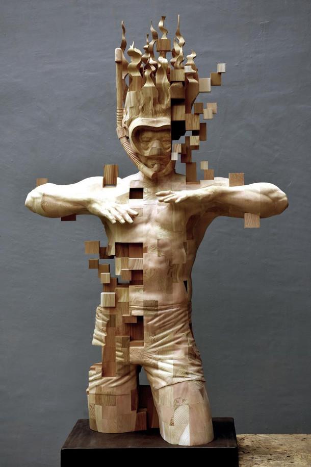 pixel-sculptuur-duiker-2