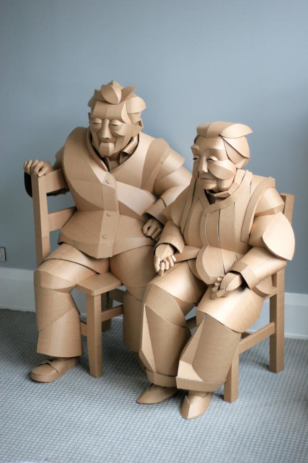 levensgroot-karton-sculpturen-4