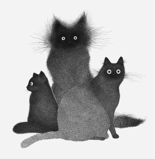 gestileerde-tekeningen-katten-2