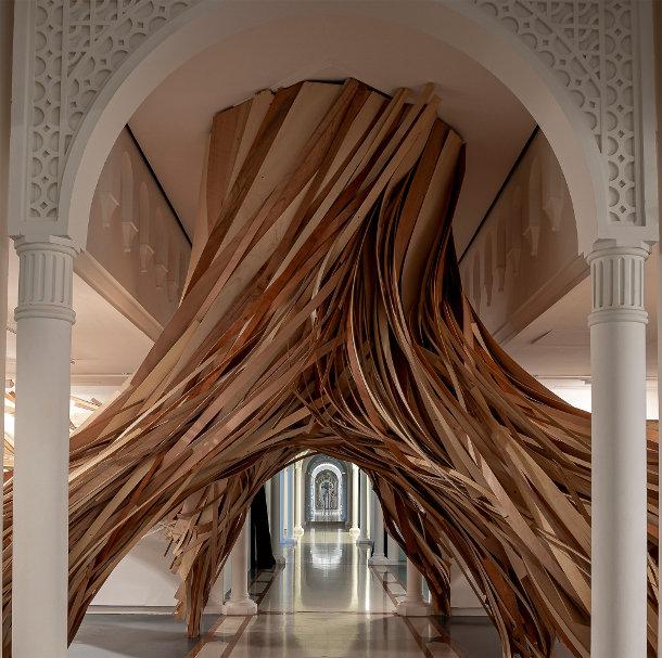 boom-sculptuur-linten-2
